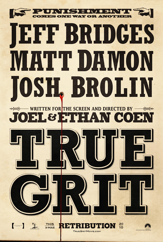 True Grit, Movie, poster