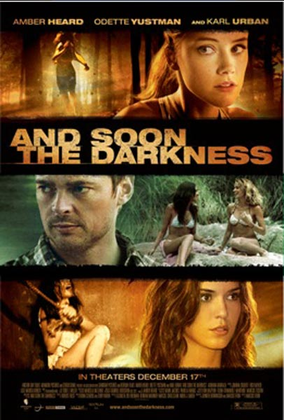 And Soon The Darkness, movie, poster