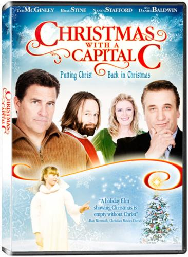 Christmas with a Capital C, movie, poster, dvd, box, art