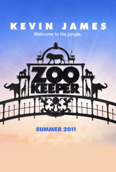 The Zookeeper, movie, poster