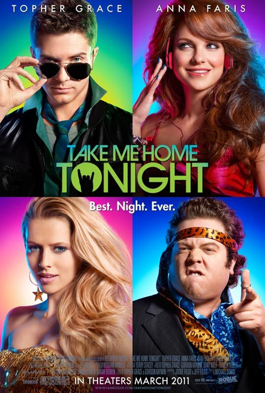 Take Me Home Tonight, movie, poster