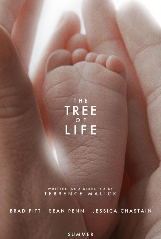 Tree of Life,movie, poster, Brad Pitt