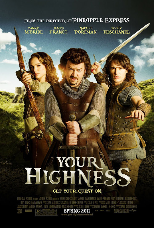 Your Highness,new, movie, poster