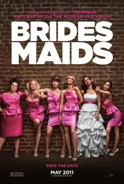 Bridesmaids, movie, poster