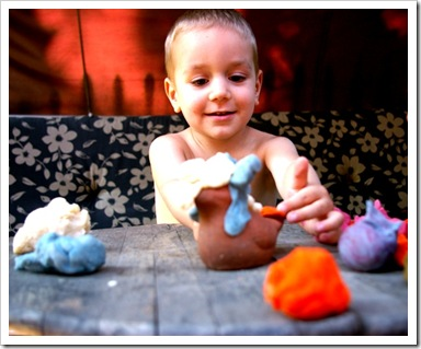 play doh gyurma recept