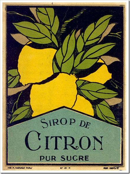 citromszörp recept