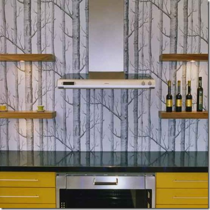 kitchen_wallpaper_ideas_modern_yellow_and_grey_kitchen