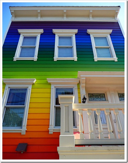 painted-rainbow-color-house