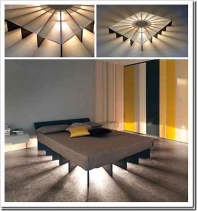 világító ágy