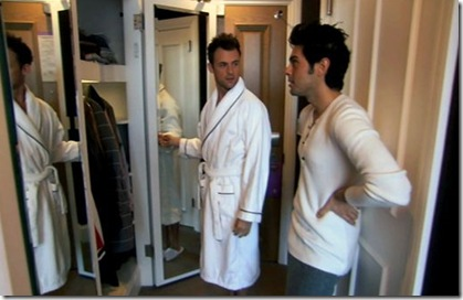 1 brad bathrobe