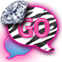 GO SMS/DiamondPastelZebra icon