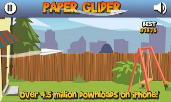 Screenshot of Paper Glider