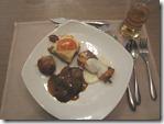 Bangkok: Course 7 - seafood lasangne, lamb, salmon