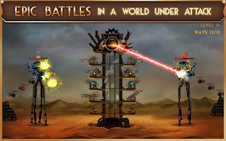 Screenshot of Steampunk Tower