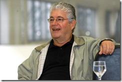 O governador Roberto Requião, na reunião semanal Operação Mãos Limpas.Foto-Roberto Corradini-SECS