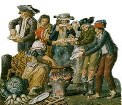 177[amolenuvolette.it]1794-1795 la disette du pain car l'hiver est très rude gouache des frères le sueur
