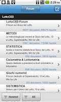 Screenshot of LottoCED