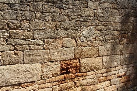 pianosa - muro a secco a sacco