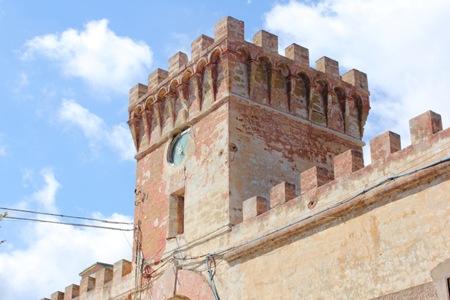 pianosa torre sopra l'antico ingresso al carcere