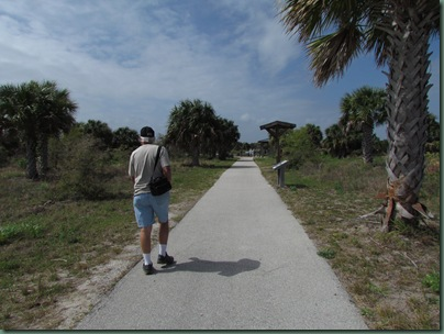Trail at Pelican Island NWR