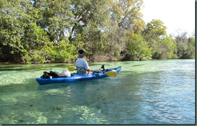 Al on theWeeki Wachee River