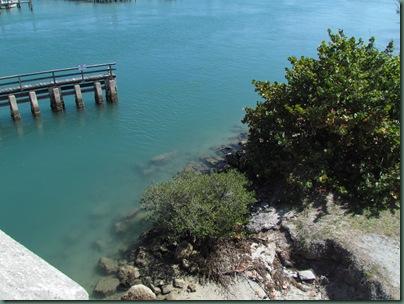 pretty blue water near Juno Beach