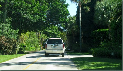 driving along A1A - pricey real estate