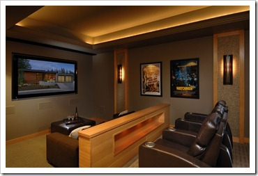 ZEBRA INTERIORS-Anya Lane-Media Room