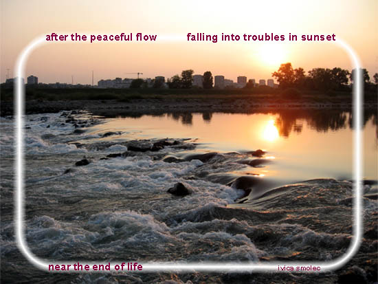 After the peaceful flow - haiga