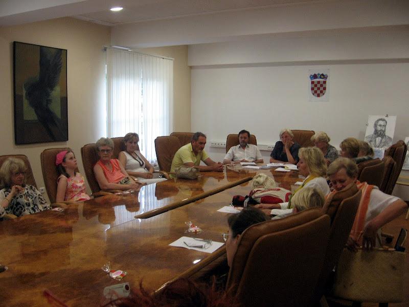 Šenoini dani - okrugli stol, gradska vijećnica u POU, Velika Gorica 2009.