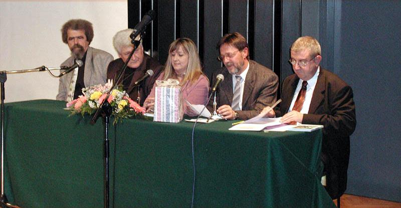 """Ivica Smolec - književna nagrada """"Albatros 2004"""", svečanost proglašenja i promocija"""