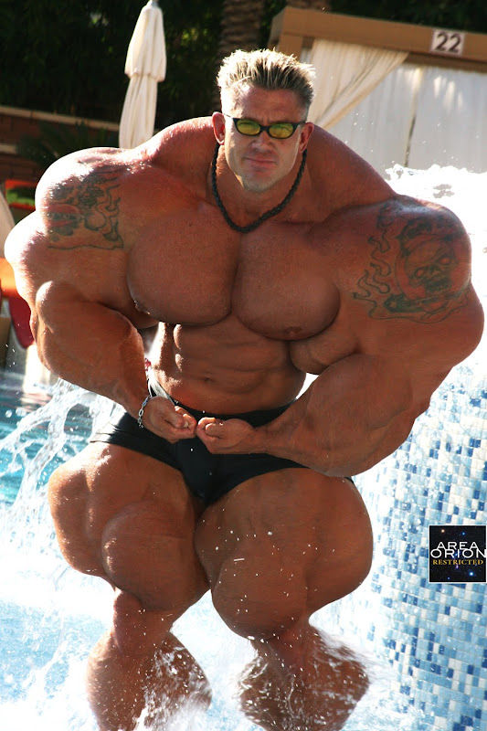 male muscle morph