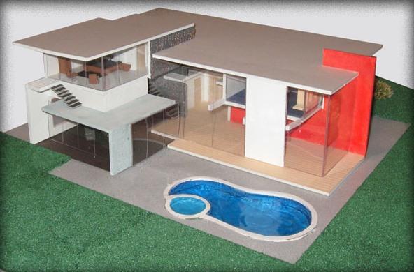 Maquetas casa imagui for Fotos de casas modernas para imprimir