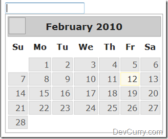 jQuery UI DatePicker Default Date