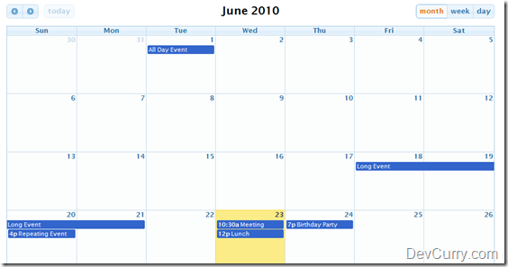 Year Calendar Jquery Plugin : Jquery calendar plugins that can be used on websites