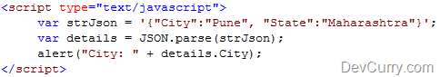 JSON code
