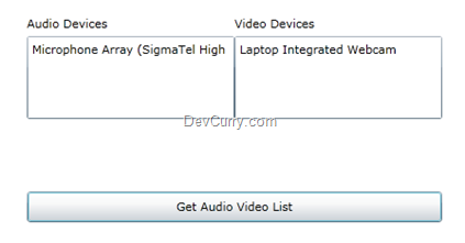 Silverlight Audio Video