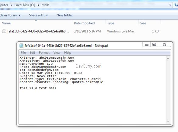 ASP.NET Email SMTP