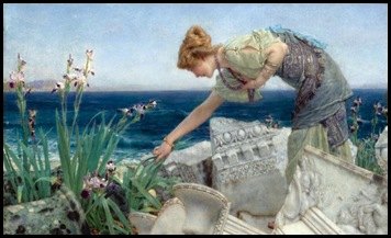 Sir Lawrence Alma Tadema~Among the Ruins