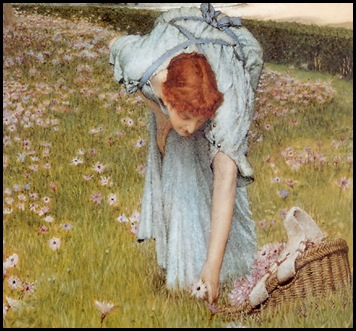 Sir Lawrence Alma Tadema~Flora