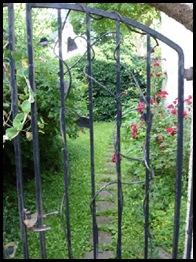metalen hekje