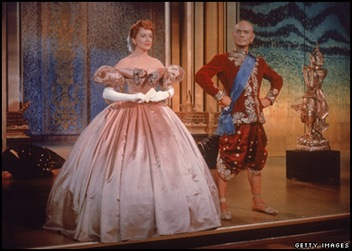king and I met Deborah Kerr en Yul Brynner 1956