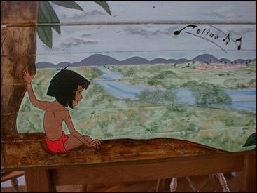 Deksel Junglebook kist
