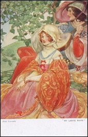 Ethel Larcombe Postcard