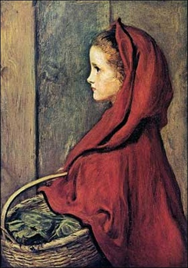 Red Riding Hood by John Everett Millais