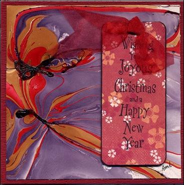 kerst marmeren