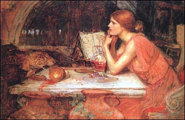 waterhouse the_sorceress