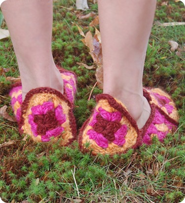 granny-square-slippers