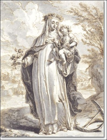 Richard Van Orley, Sainte Rose de Lima