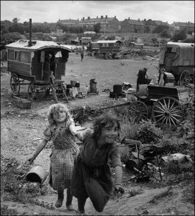 1951 Gypsy children